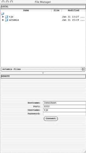Artemis manual